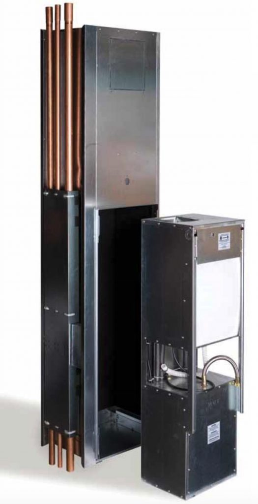 photo of vertical Bulldog Heat Pump